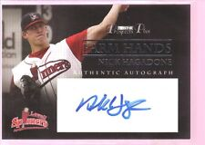 NICK HAGADONE 2007 TRISTAR ROOKIE AUTOGRAPH AUTO RC SP LOWELL SPINNERS $15