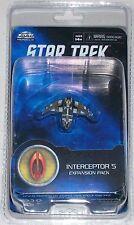 INTERCEPTOR 5 STAR TREK: ATTACK WING EXPANSION PACK Bajoran attack fighter