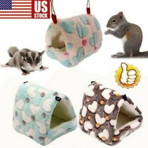 Hammock Nest Ferret Rabbit Guinea Pig Rat Hamster Mice Cute Bed Toy Warm US