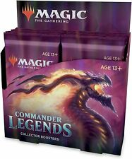 MTG Magic: The Gathering Commander Legends Collector Booster English BOX  [5-042