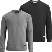 BJÖRN BORG MENS BB CREW NECK SWEATER THERMAL FLEECE RAGLAN SLEEVE PULLOVER