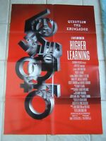 Vintage Movie Poster 1 sheet Higher Learning 1994 Ice Cube, Jennifer Connelly