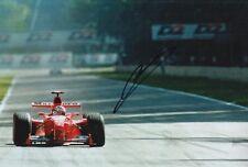 Mika Salo Hand Signed Scuderia Ferrari 12x8 Photo F1 8.