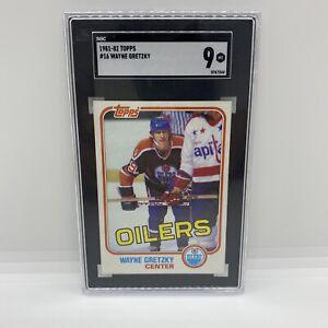 1981 Topps Wayne Gretzky SGC MINT 9 - PSA BGS