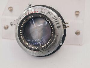 "Wollensak Raptar 190mm F4.5 4x5"" Large Format Lens - Alphax Shutter READ"