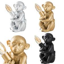 Baby Monkey Table Lamp Light Retro Design Animal Lighting LED Vintage Bulb
