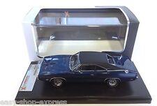 Dodge Charger 500 1970 - Bleue 1:43 PREMIUM X IXO VOITURE RESINE PRD389