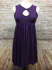 Rachel Pally Dress Size S Women's Swing Empire Waist Purple Flowy SOFT