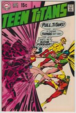 Teen Titans #22 VF-NM 9.0 Kid Flash Robin Speedy Origin Of Wonder Girl 1969!