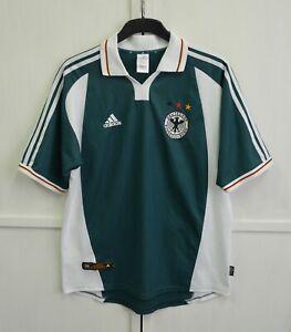 RARE! Germany 2000/2001/2002 Vintage Away Football Shirt Jersey Adidas Size L