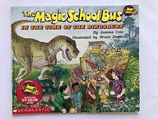 The Magic School Bus in the Time of the Dinosaurs by Joanna Cole Scholastic book