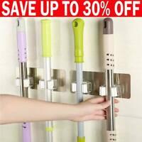 1Pc Hooks Holder Mop Broom Wall Mounted Clip Brush Handle Hanger Storage Rack Ch