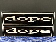 Dope Band Metal 2Pomo Stickers 8x2 Edsel Acey Slade Virus Racci Shay Static X