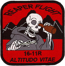 US ARMY MQ-1C REAPER FLIGHT 16-11R PATCH ALTITUDO VITAE