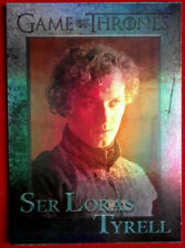 GAME OF THRONES - SER LORAS TYRELL - Season 4 - FOIL PARALLEL Card #75