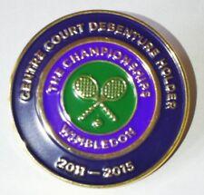 Wimbledon Centre Court Debenture Holder Pin / badge 2011 - 2015 with pouch