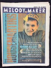 Melody Maker January 3 1987 Housemartins Pet Shop Boys Def Jam Alan Moore
