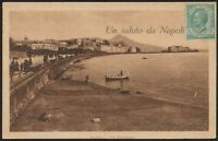 AX0761 Un saluto da Napoli - Cartolina postale - Postcard