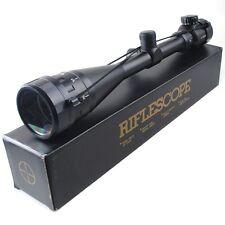 6-24x50 Optics Hunting AOE Crosshair Target Finder Shooting Air Rifle Gun Scope