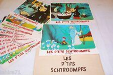 les schtroumpfs LES P'TITS  SCHTROUMPFS  !  jeu 12 photos cinema animation peyo