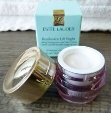 New ESTEE LAUDER Resilience Lift Night Firming Face Neck Creme .17oz Travel Sz