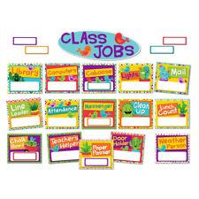 EU 847772 A Sharp Bunch Job Chart Bulletin Board Set Classroom Decorations
