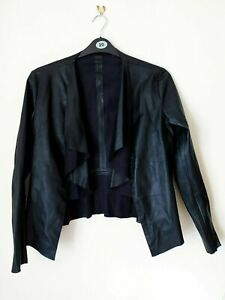 👗 Faux Leather Jacket 👗 Zara • Black • Size M • Spring / Summer • Acceptable