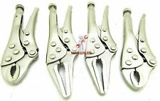 4pc Vice Grip Mini Locking Pliers Set HIGH CARBON STEEL Heavy Duty