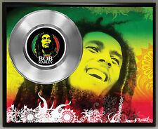 Bob Marley 45 Record Poster Art Music Memorabilia Plaque Wall Decor 3
