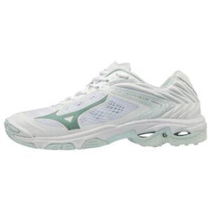 Mizuno Wave Lightning Z5 White Womens Indoor Court Shoes
