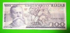 17May79 Cien Pesos $100 Banco De Mexico Y2657650 Circulated 62
