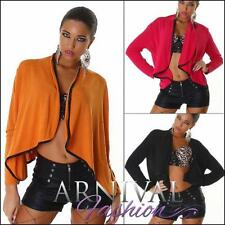 Polyester Solid Jumpers & Cardigans for Women