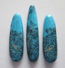 23.70 cts Natural High Grade Kingman Spiderweb Turquoise Gemstones # CU 008