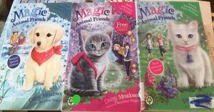 Magic Animal Friends by Daisy Meadows, Poppy, Amelia, Bella, Children Chapter Pb
