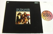 Quad-Nine Days Wonder-We Never LostControl-ORIG 1973 German Prog/Krautrock LP-NM