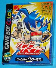 Shin Megami Tensei Trading Card Summoner Game Boy Color GB Nintendo Gameboy JAP