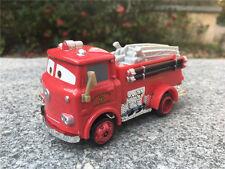 Disney Pixar Car 1:55 Red Firetruck Metal Toy Cars New Loose