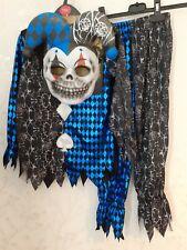 TU  Age 7-8 Years Jester Joker Halloween Costume Outfit Fancy Dress Scary