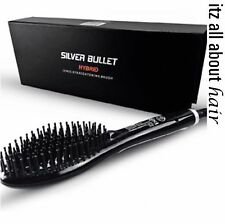 Silver Bullet Hybrid Hair Straightening Brush 900749