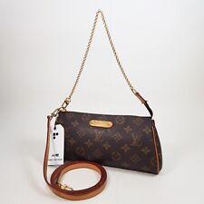 Authentic Louis Vuitton Eva Clutch Monogram M95567 Genuine Clutch Shoulder LC188