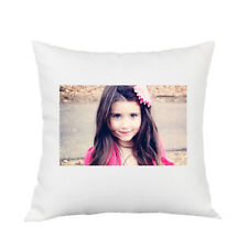 Personalised Cushion Pillow Case Cover Custom Photo Name Text Christmas Birthday