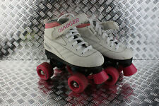 Pacer Charger Junior Roller Skates Size 13 pink white good condition P970G