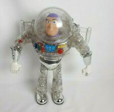 "Disney Pixar Thinkway Clear Buzz Lightyear Toy Story Figure 12"""