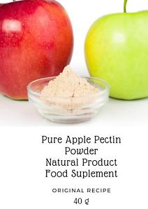 Pure Apple Pectin Powder Reduces Cholesterol Making Cake/Jam Imunnity  40gr
