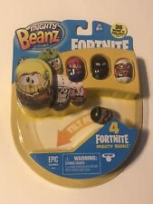 NEW Mighty Beanz Fortnite - 4 Pack Sealed (Style A)