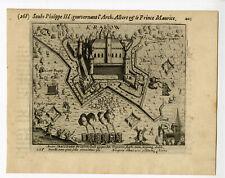 Antique Print-KRAKOW-CRACAU CASTLE-KREFELD-Baudartius-1616