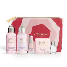 L'Occitane ROSE COLLECTION Kit Bag Eau de Toilette Body Lotion Hand Cream Set