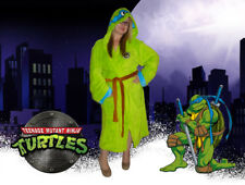 Ninja Turtles Leonardo Comfy Throw Blanket Leo Sleeve Robe Bed Time Cozy Costume