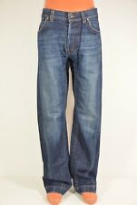 HUGO BOSS orange Herren Jeans HB 48 blau W34 / L34; K31 938