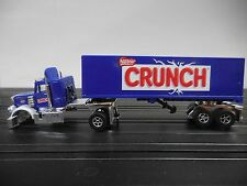 AUTO WORLD ~ Nestle Crunch Racing Rig ~ Add Your Own Chassis ~ FITS AFX, AW